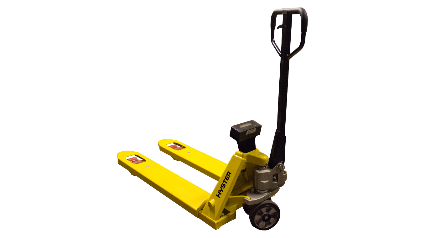 Weigh scale hand pallet truck V2
