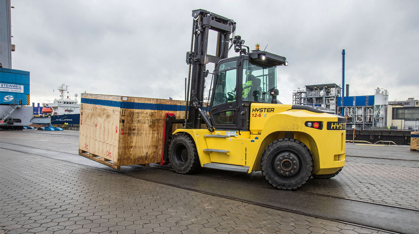 Hyster® port and terminal solutions at Intermodal Africa