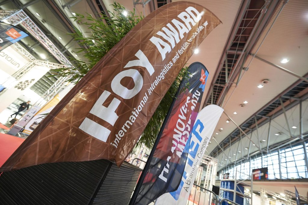 IFOY AWARD 2020 finalist - Hyster J60XNL (J3.0XNL)