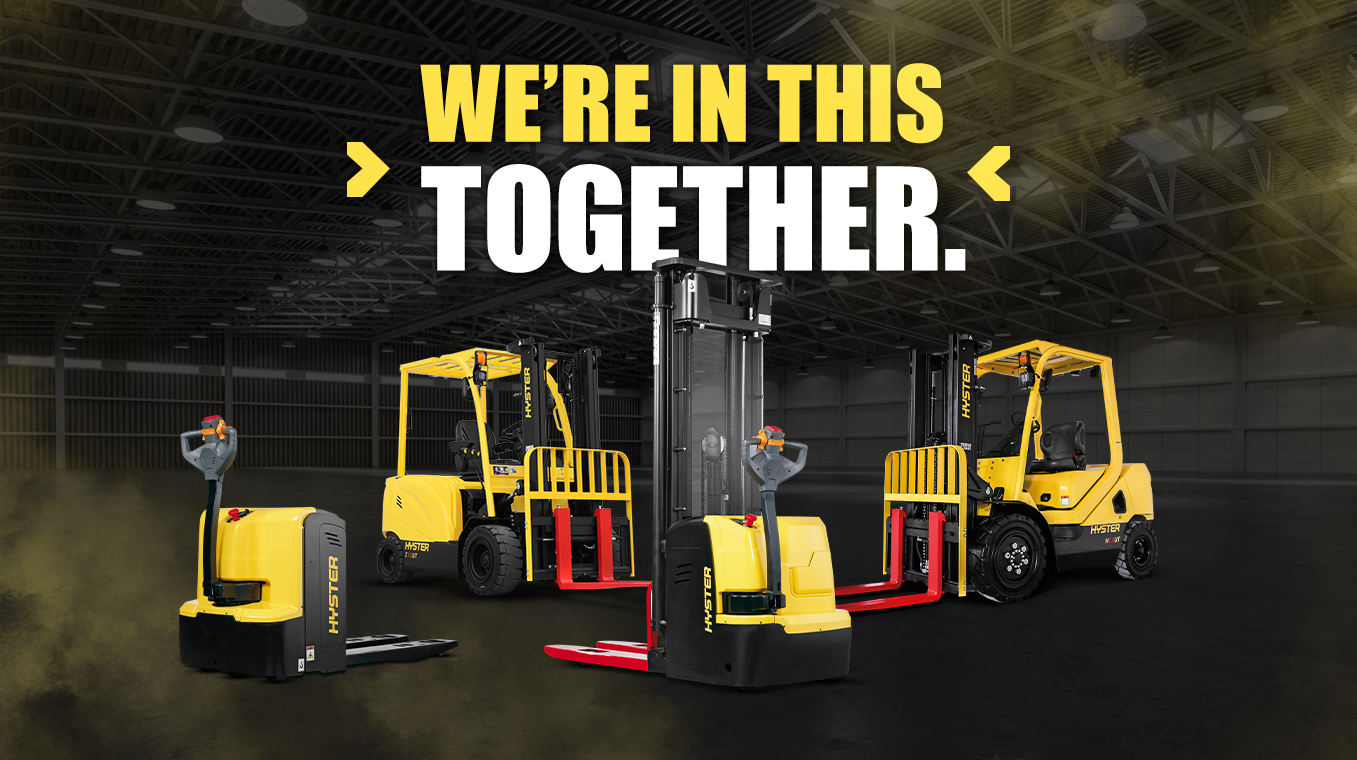 HYSTER® UT TRUCKS THAT GET THE JOB DONE