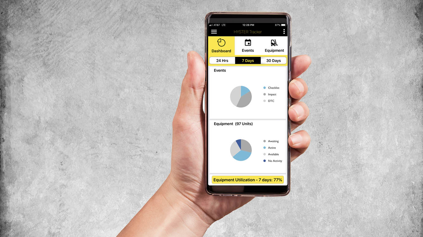 Hyster tracker app