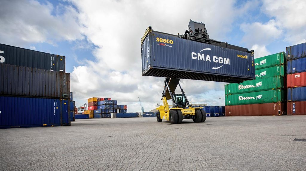 Hyster® Laden Container Handlers