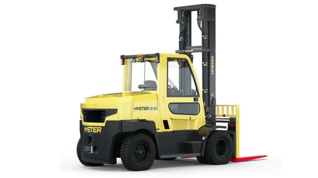 Hyster forklift lithium-ion batteries