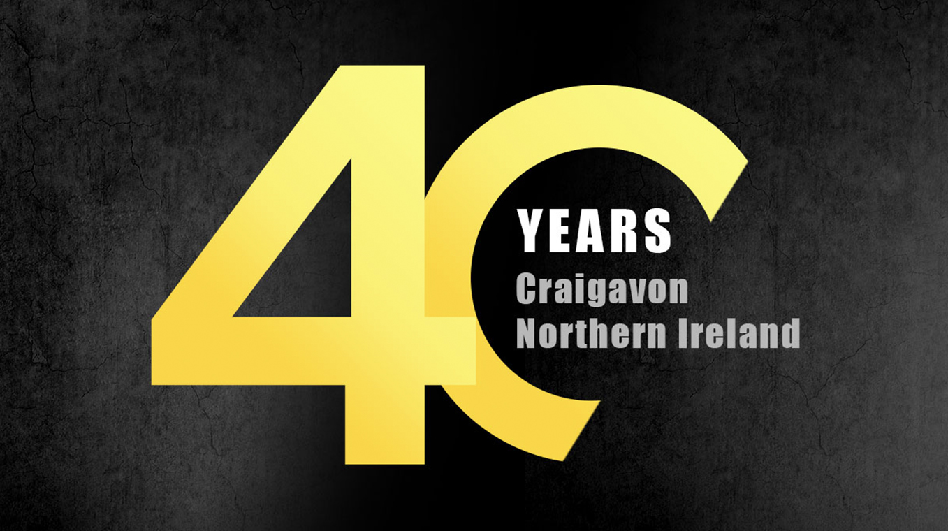 Hyster® forklift trucks are celebrating 40 years at Craigavon Plant